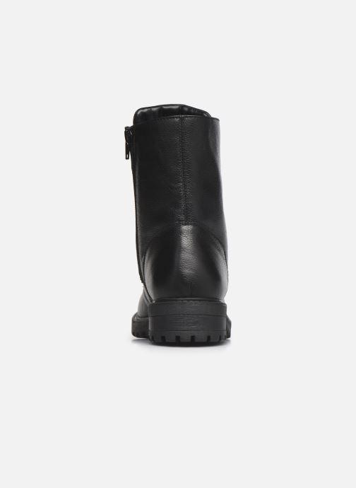 Bottines et boots I Love Shoes THERASSE LEATHER Noir vue droite