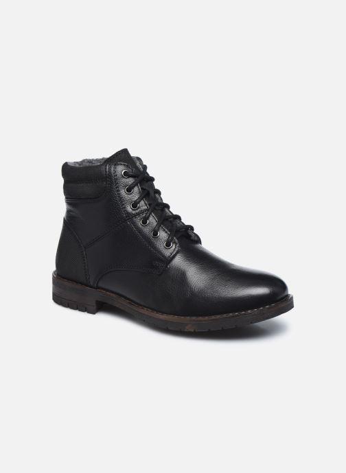 Botines  I Love Shoes THETU LEATHER Negro vista de detalle / par