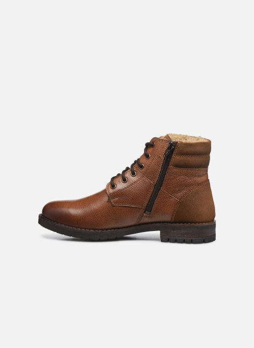 Stivaletti e tronchetti I Love Shoes THETU LEATHER Marrone immagine frontale