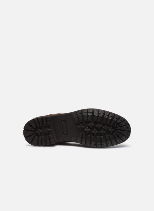 Stivaletti e tronchetti I Love Shoes THETU LEATHER Marrone immagine dall'alto