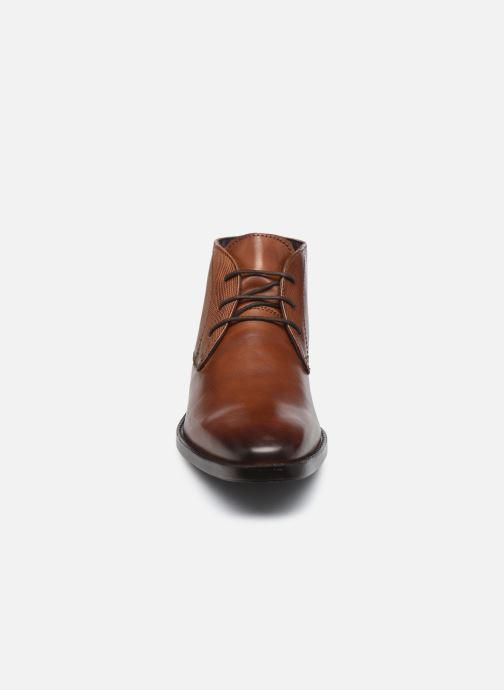 Bottines et boots I Love Shoes THIMON LEATHER Marron vue portées chaussures