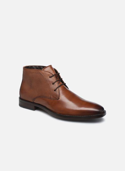 Bottines et boots I Love Shoes THIMON LEATHER Marron vue détail/paire