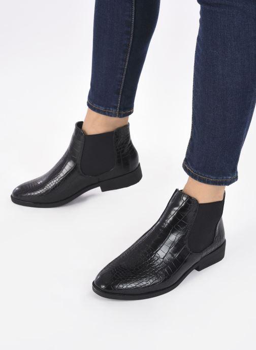 Stivaletti e tronchetti I Love Shoes THICHEL Nero immagine dal basso