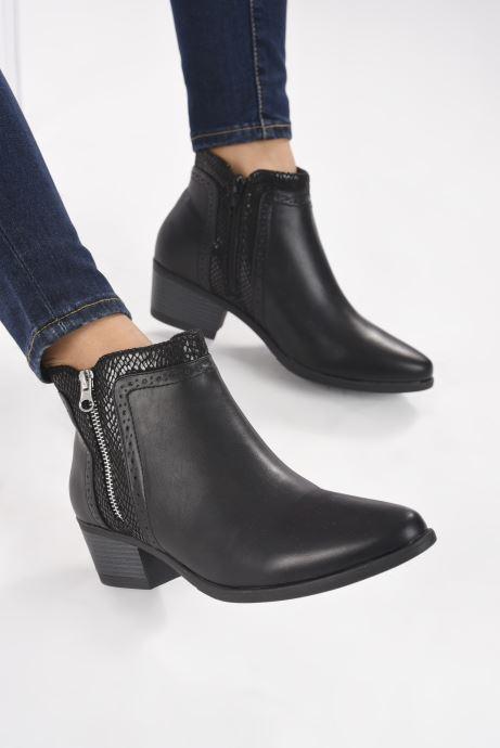 Botines  I Love Shoes THEPILE Negro vista de abajo