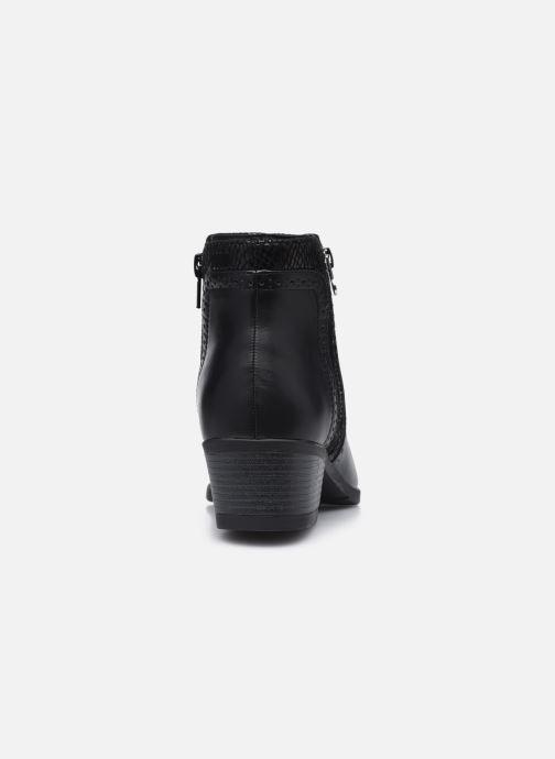Botines  I Love Shoes THEPILE Negro vista lateral derecha