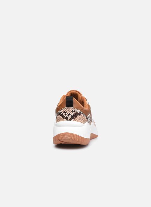 Baskets I Love Shoes THELLA Marron vue droite