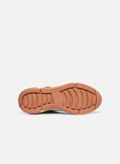 Baskets I Love Shoes THELLA Marron vue haut