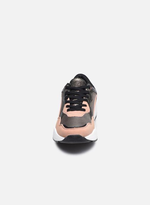 Deportivas I Love Shoes THELLA Verde vista del modelo