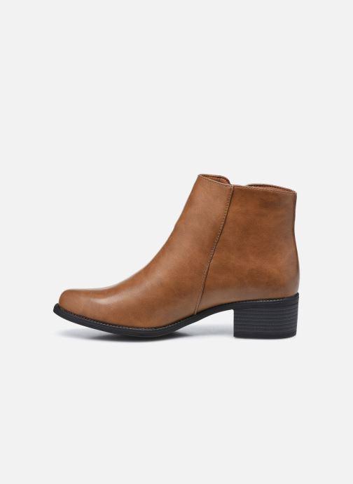Bottines et boots I Love Shoes THOLENE Marron vue face