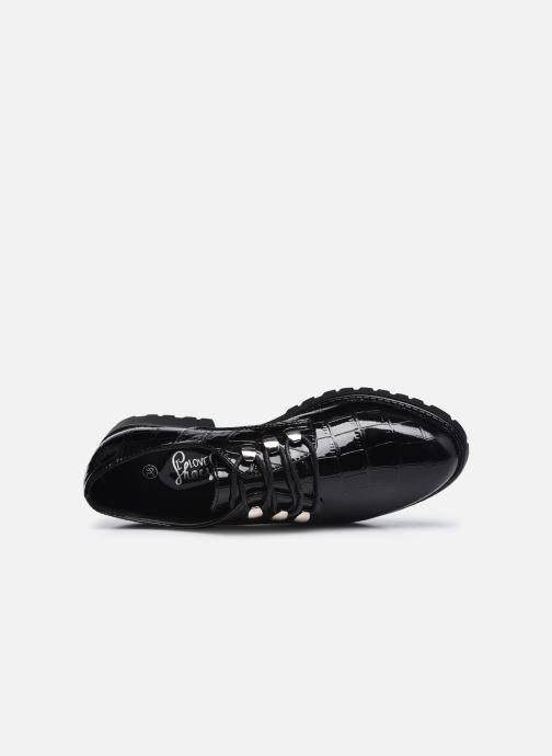 Zapatos con cordones I Love Shoes THAPUCINE Negro vista lateral izquierda
