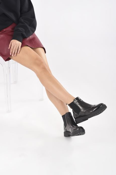 Stiefeletten & Boots I Love Shoes THITOU schwarz ansicht von unten / tasche getragen