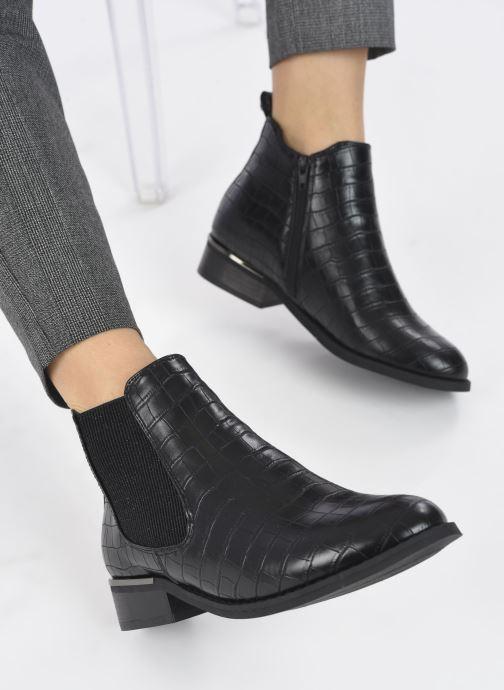Botines  I Love Shoes THOMINIQUE Negro vista de abajo