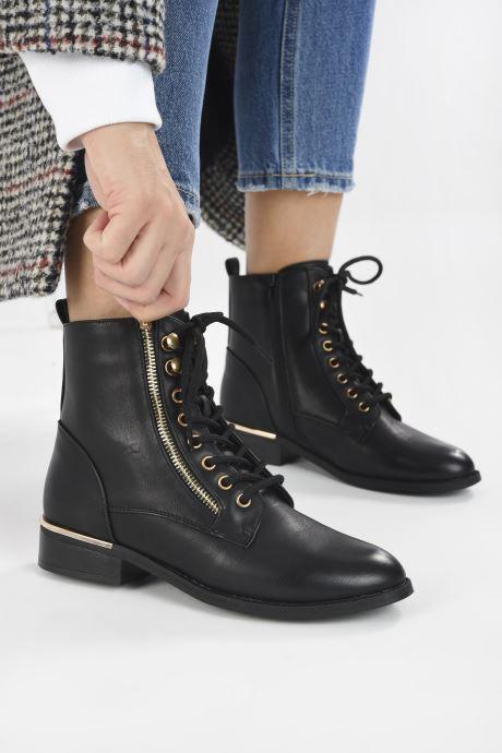 Bottines et boots I Love Shoes THALICE Noir vue bas / vue portée sac