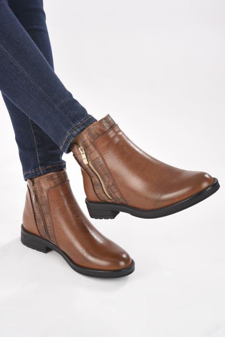 Botines  I Love Shoes THADRO Marrón vista de abajo