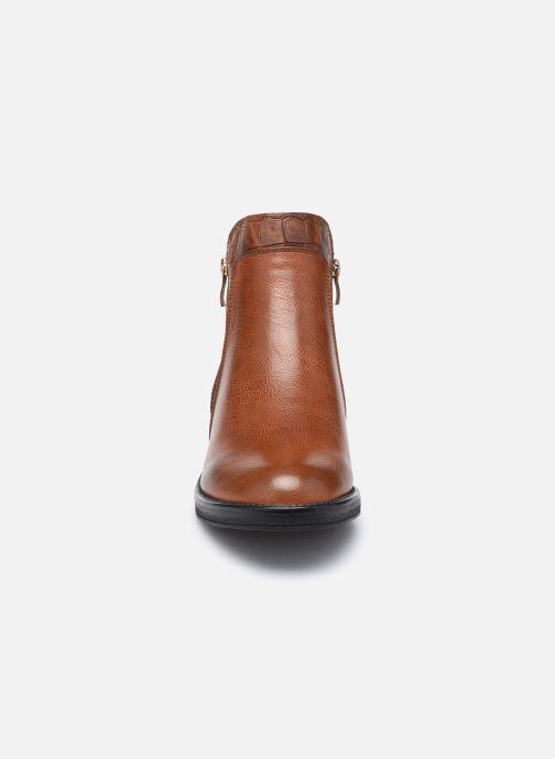 Botines  I Love Shoes THADRO Marrón vista del modelo