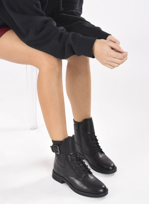 Bottines et boots I Love Shoes THABLE Noir vue bas / vue portée sac