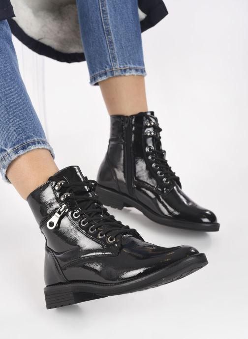Bottines et boots I Love Shoes THACCO Noir vue bas / vue portée sac