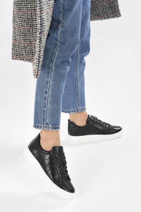 Sneaker I Love Shoes THAMBOURI schwarz ansicht von unten / tasche getragen