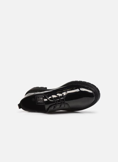 Zapatos con cordones I Love Shoes THARTINE Negro vista lateral izquierda