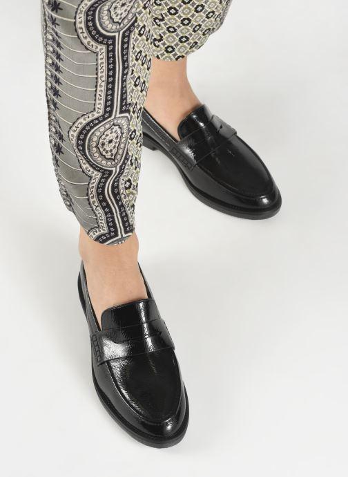 Mocasines I Love Shoes THERINE Negro vista de abajo