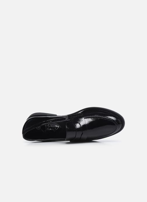 Mocasines I Love Shoes THERINE Negro vista lateral izquierda