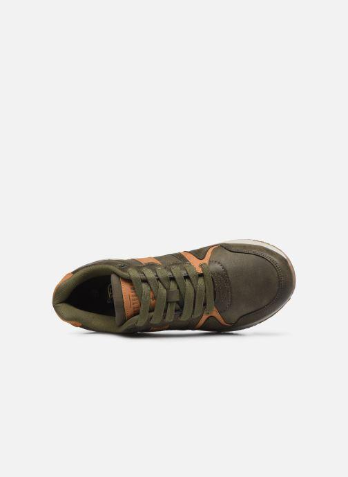 Deportivas I Love Shoes THONERRE Verde vista lateral izquierda