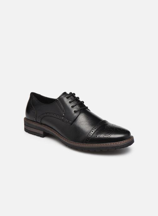 Chaussures à lacets I Love Shoes THERSAILLE Noir vue détail/paire