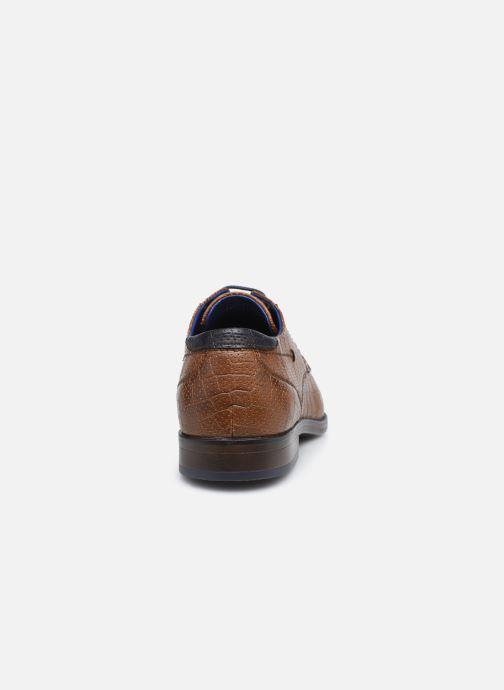 Scarpe con lacci I Love Shoes THRAIZE Marrone immagine destra