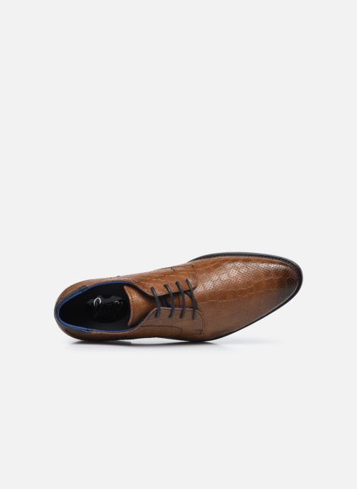 Scarpe con lacci I Love Shoes THRAIZE Marrone immagine sinistra