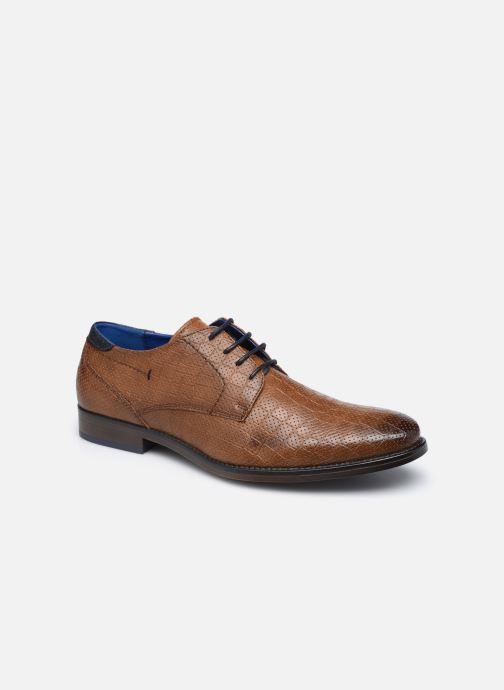Chaussures à lacets I Love Shoes THRAIZE Marron vue détail/paire