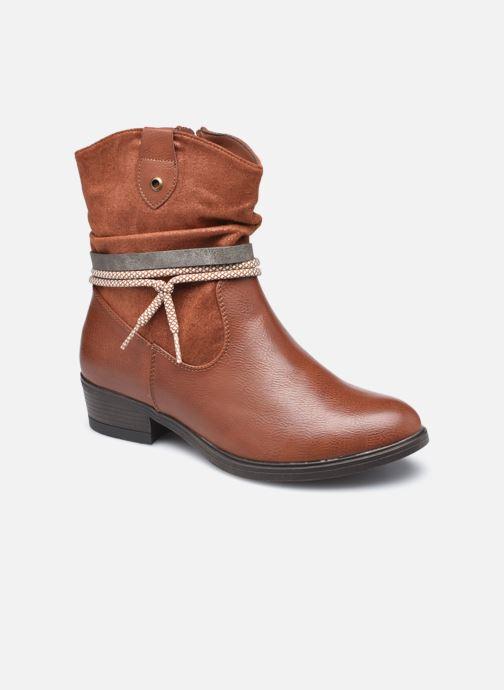 Bottines et boots I Love Shoes THIPHAINE Marron vue détail/paire