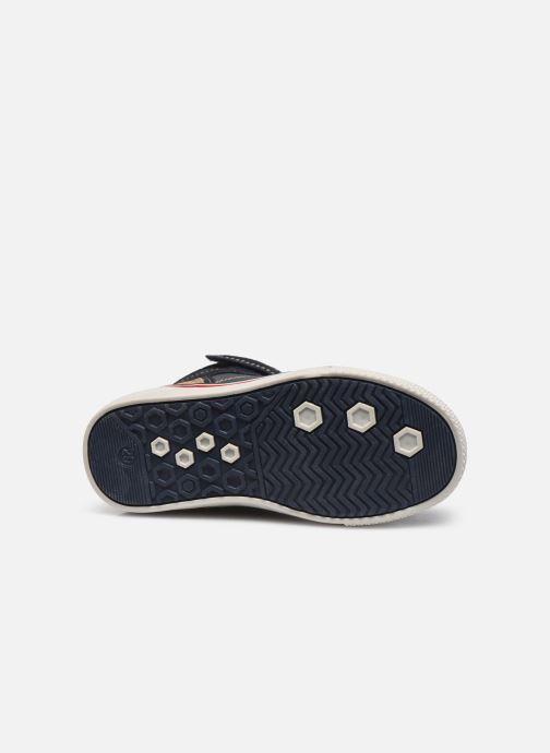 Sneaker I Love Shoes TILOUAN blau ansicht von oben