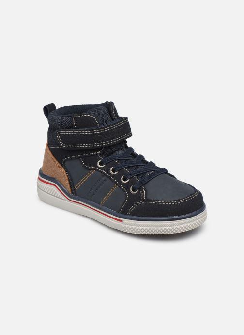 Baskets I Love Shoes TILOUAN Bleu vue détail/paire