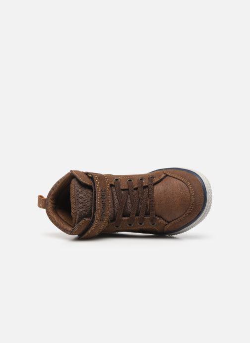 Baskets I Love Shoes TILOUAN Vert vue gauche