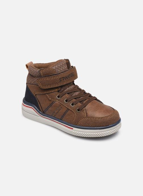 Baskets I Love Shoes TILOUAN Vert vue détail/paire