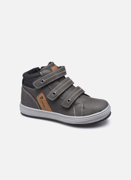 Baskets I Love Shoes THIMEO Gris vue détail/paire