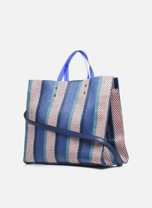 Handtaschen I Love Shoes BALUCIE blau ansicht von rechts
