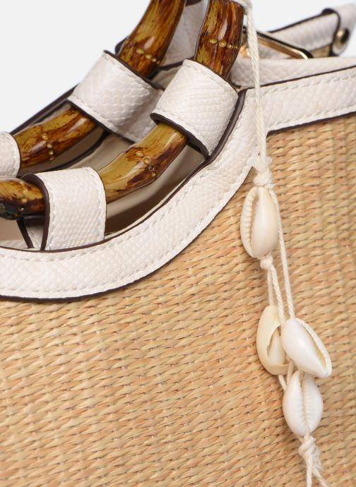 Bolsos de mano I Love Shoes BATEL Blanco vista lateral izquierda