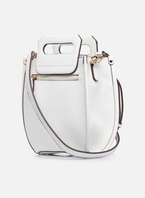 Sacs à main I Love Shoes BASSOL Blanc vue droite