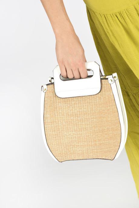 Sacs à main I Love Shoes BASSOL Blanc vue bas / vue portée sac