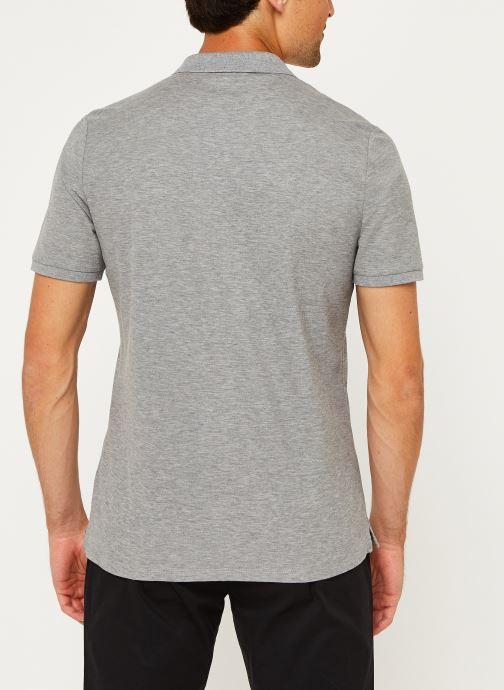 Kleding Calvin Klein Refined Pique Chest Logo Grijs model