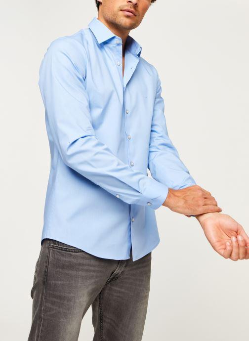 Kleding Accessoires 2Ply Poplin Stretch Slim Shirt