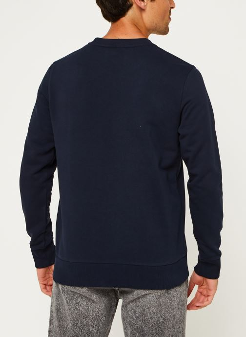 Kleding Calvin Klein Cotton Logo Sweatshirt Blauw model