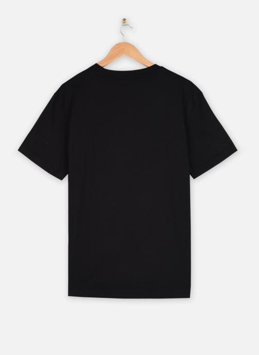 Kleding Calvin Klein Cotton Chest Logo T-Shirt Zwart model