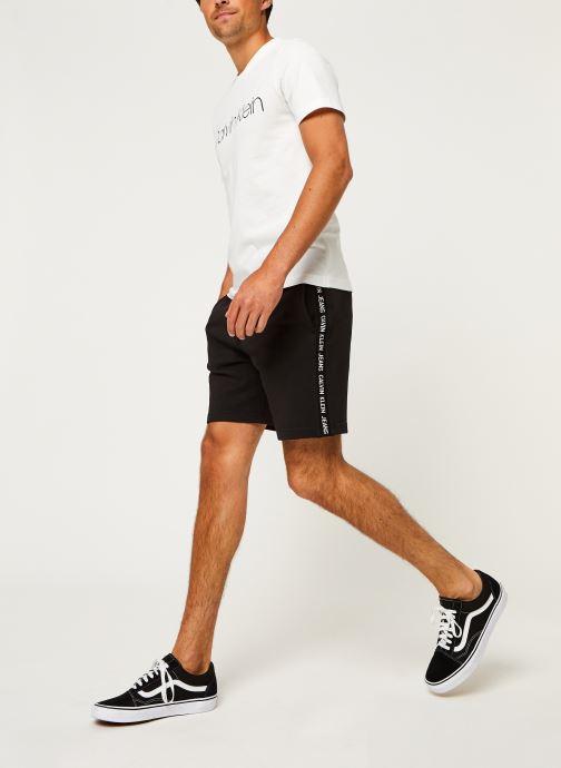 Kleding Calvin Klein Cotton Front Logo T-Shirt Wit onder