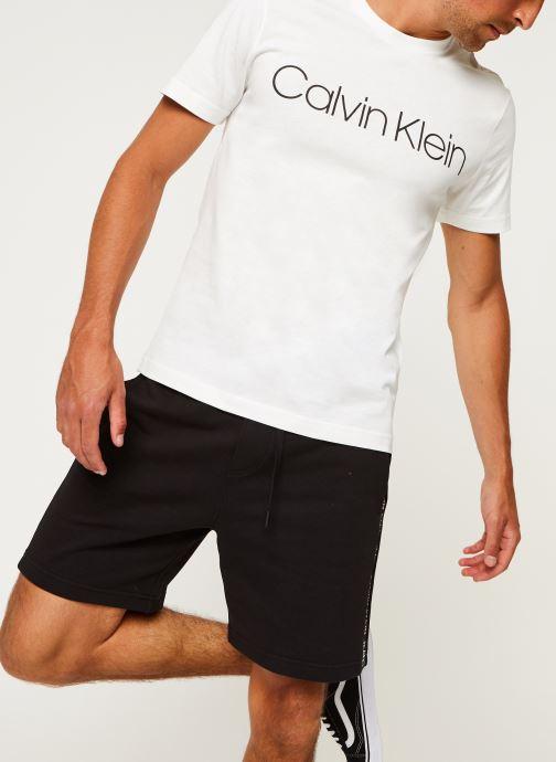 Kleding Calvin Klein Cotton Front Logo T-Shirt Wit detail