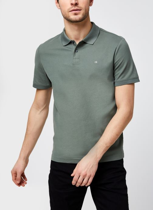 Polo - Refined Pique Logo Slim Polo