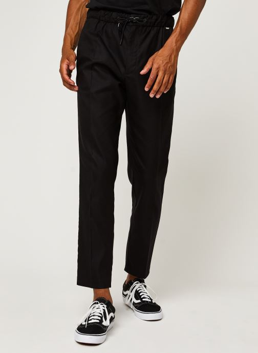 Tapered Elastic Drawstring Pant