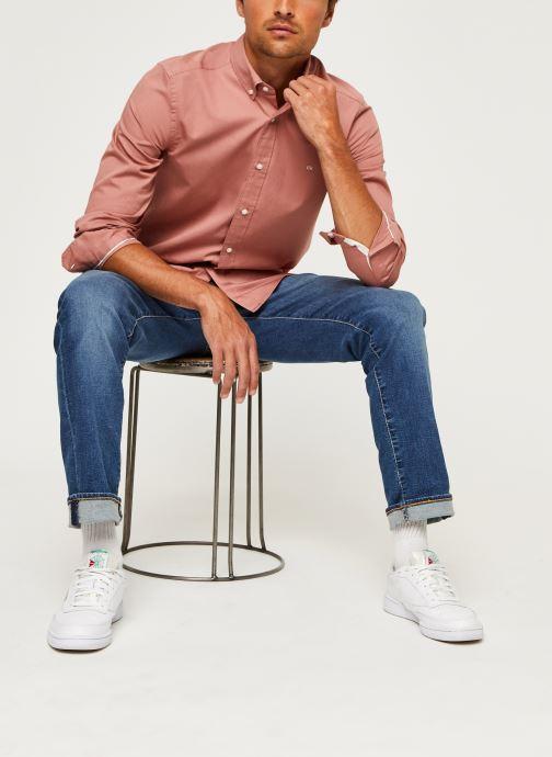 Kleding Calvin Klein Button Down Liquid Touch Shirt Roze onder