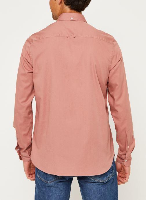 Kleding Calvin Klein Button Down Liquid Touch Shirt Roze model
